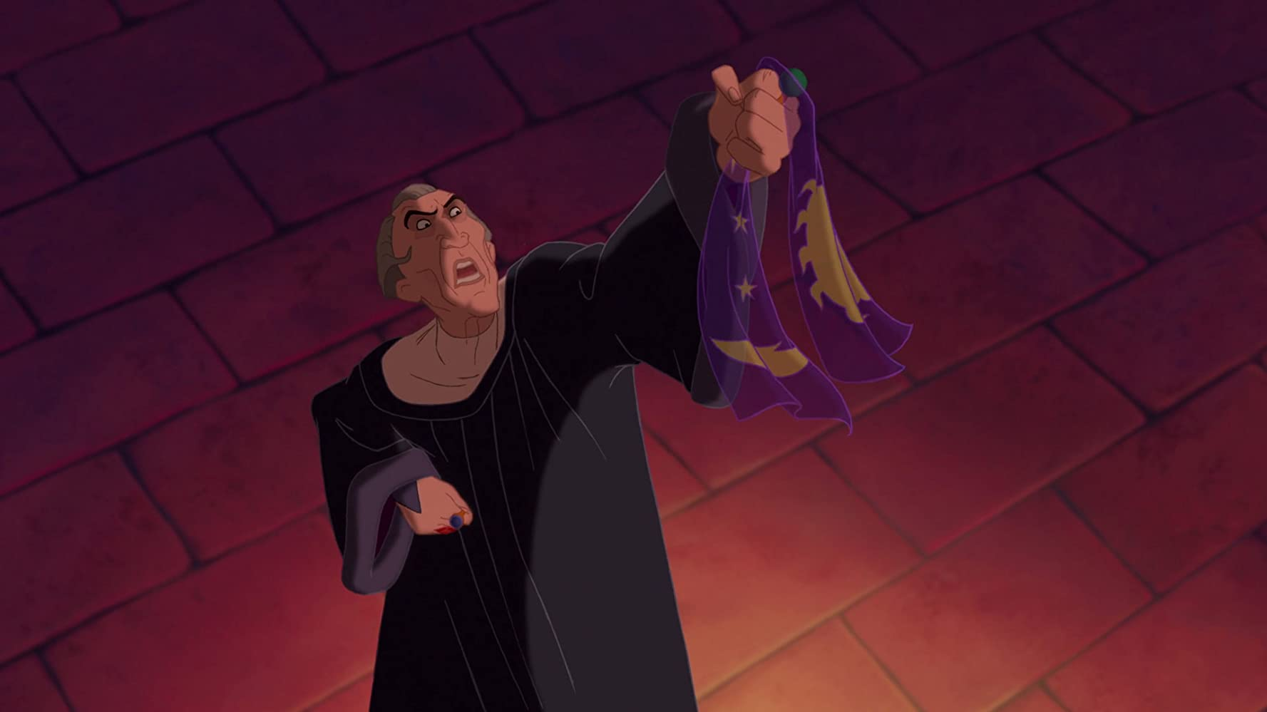 Tony Jay in The Hunchback of Notre Dame (1996)