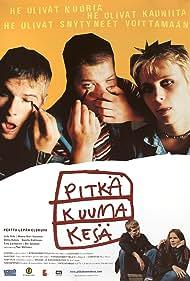 Mikko Hakola, Unto Helo, and Jimi Pääkallo in Pitkä kuuma kesä (1999)