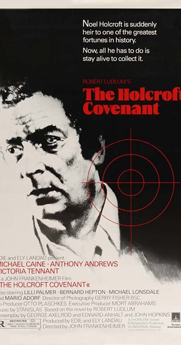 The Holcroft Covenant 1985 (BluRay) - New Hollywood Dubbed Movies