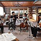 Takako Matsu, Ryûhei Matsuda, Issey Takahashi, and Hikari Mitsushima in Quartet (2017)