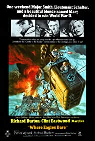 Where Eagles Dare (1969) Poster - Movie Forum, Cast, Reviews