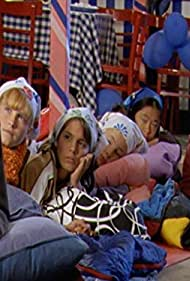 Basia A'Hern, Hannah Wang, Eliza Taylor, Ashleigh Chisholm, and Caitlin Stasey in The Sleepover Club (2003)