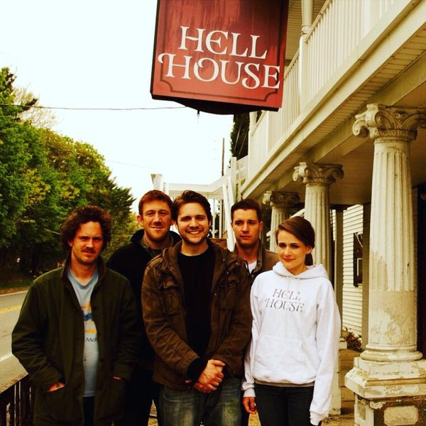 Jared Hacker, Adam Schneider, Danny Bellini, Gore Abrams, and Ryan Jennifer Jones in Hell House LLC (2015)