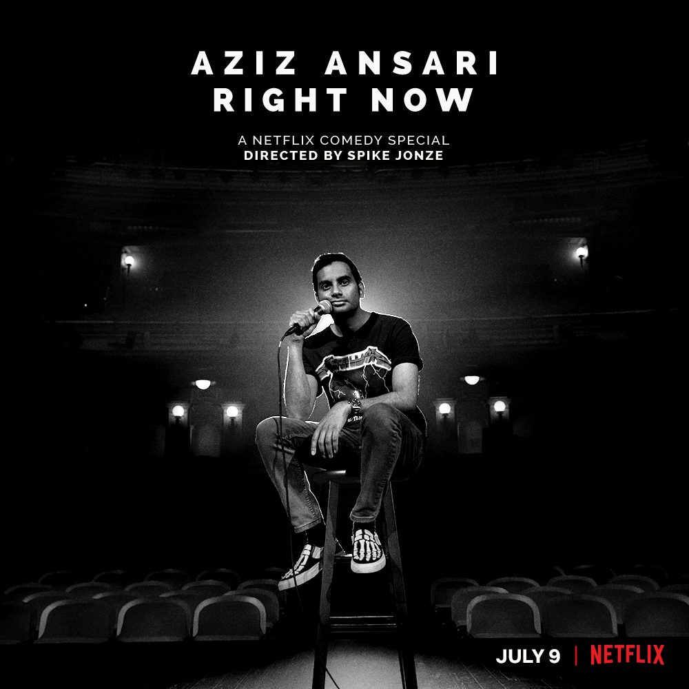 Aziz Ansari: Right Now (2019) WEBRip 720p & 1080p