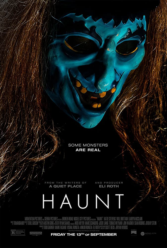 Haunt 2019 English 300MB HDRip 480p ESubs