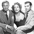 Joan Crawford, David Brian, and Zachary Scott in Flamingo Road (1949)