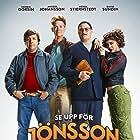 David Sundin, Henrik Dorsin, Anders Johansson, and Hedda Stiernstedt in Se upp för Jönssonligan (2020)