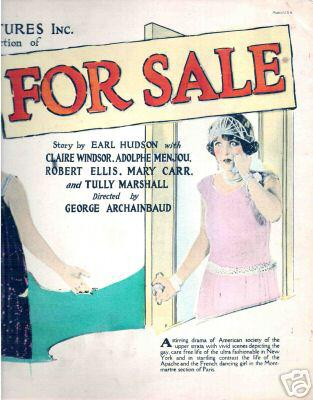 Claire Windsor in For Sale (1924)