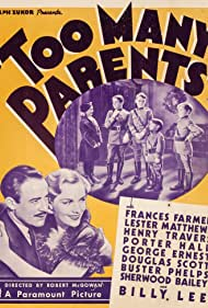 Frances Farmer and Lester Matthews in Too Many Parents (1936)