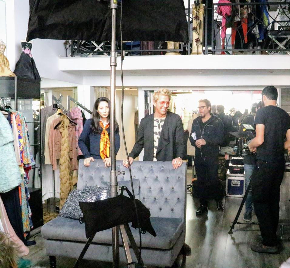 Pol Atteu, Nico Santucci, Ikumi Yoshimatsu, and Derek Warburton in Sarogeto (2021)