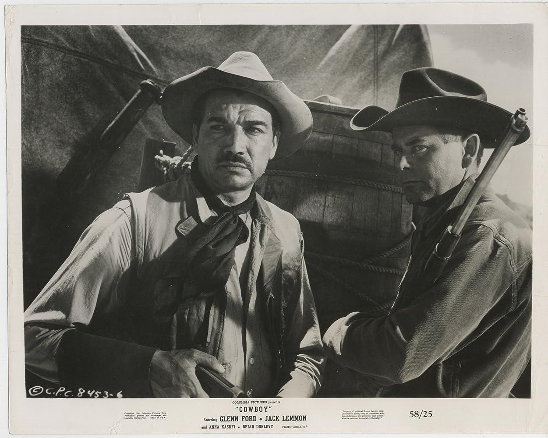 6c305a429feee Glenn Ford and Víctor Manuel Mendoza in Cowboy (1958)