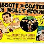 Bud Abbott, Lou Costello, Edgar Dearing, Frank Hagney, and Rags Ragland in Bud Abbott and Lou Costello in Hollywood (1945)