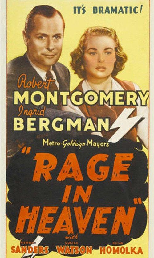 Rage in Heaven (1941) - IMDb