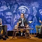 Alex Rosén, Lars Monsen, Trine Rein, Thomas Felberg, and Audun Vinger in Tidsbonanza (2016)