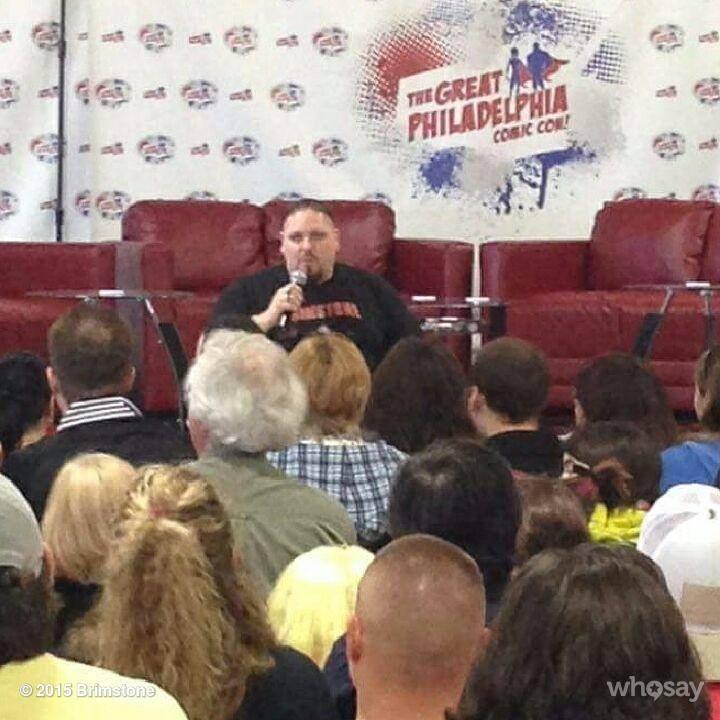 Brimstone Panel at The Great Philadelphia Comic Con