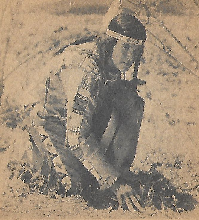 Noah Beery Jr. in Fighting with Kit Carson (1933)