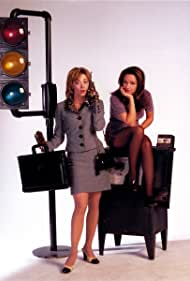 Sharon Lawrence and Leah Remini in Fired Up (1997)