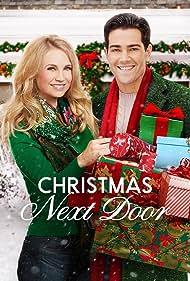 Jesse Metcalfe and Fiona Gubelmann in Christmas Next Door (2017)