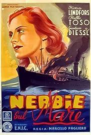 Nebbie sul mare Poster