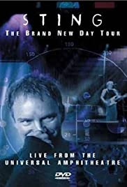 Sting: The Brand New Day Tour - Live from the Universal Amphitheatre Poster