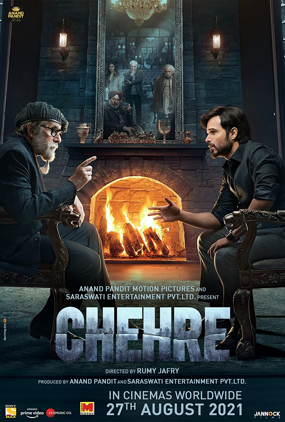 Chehre 2021 Hindi Movie 720p AMZN HDRip ESub 950MB x264 AAC