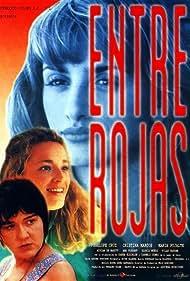 Penélope Cruz, Cristina Marcos, and María Pujalte in Entre rojas (1995)