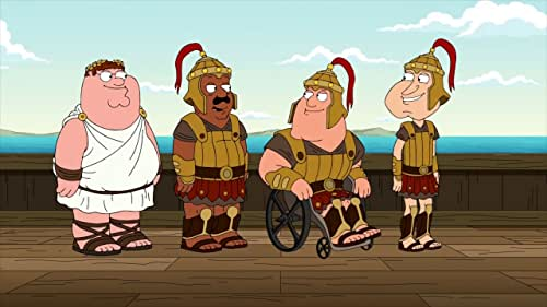 Family Guy: The Trojans Head Back To Troy
