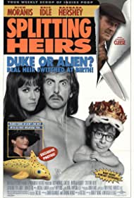 John Cleese, Barbara Hershey, Eric Idle, Rick Moranis, and Catherine Zeta-Jones in Splitting Heirs (1993)