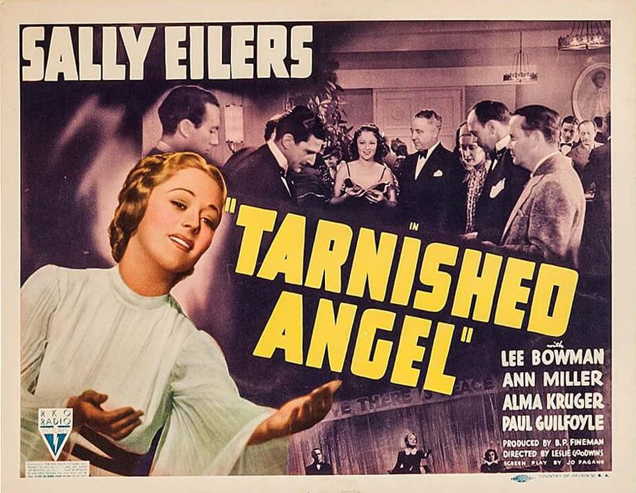 Helen Jerome Eddy, Sally Eilers, and Robert Gleckler in Tarnished Angel (1938)