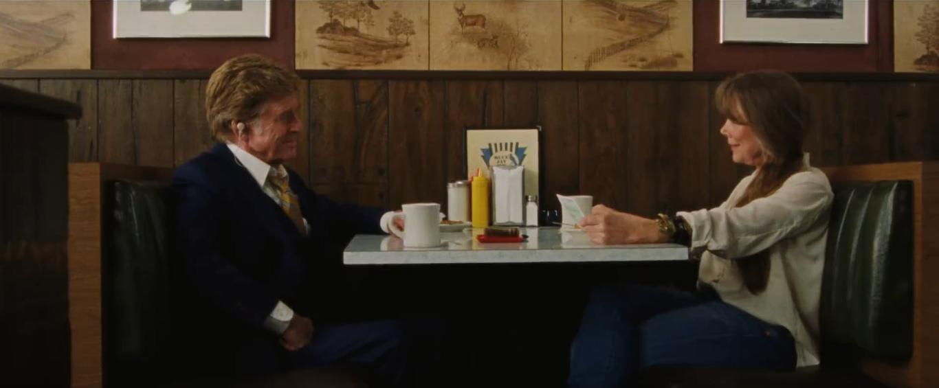 Robert Redford and Sissy Spacek in The Old Man & the Gun (2018)