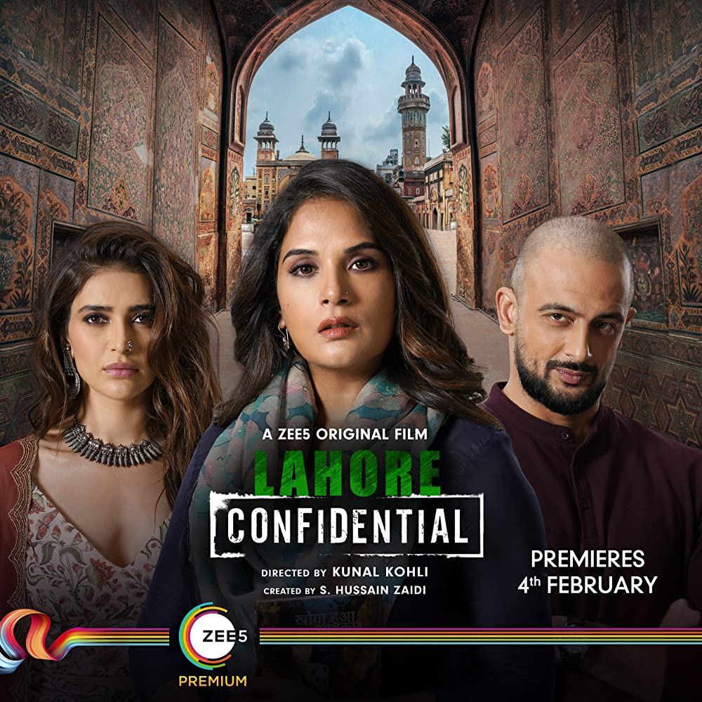 Lahore Confidential (2021) Hindi Movie 720p HDRip ESubs 450MB
