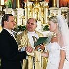 Tamara Arciuch, Andrzej Beja-Zaborski, and Bartlomiej Topa in Wesele (2004)