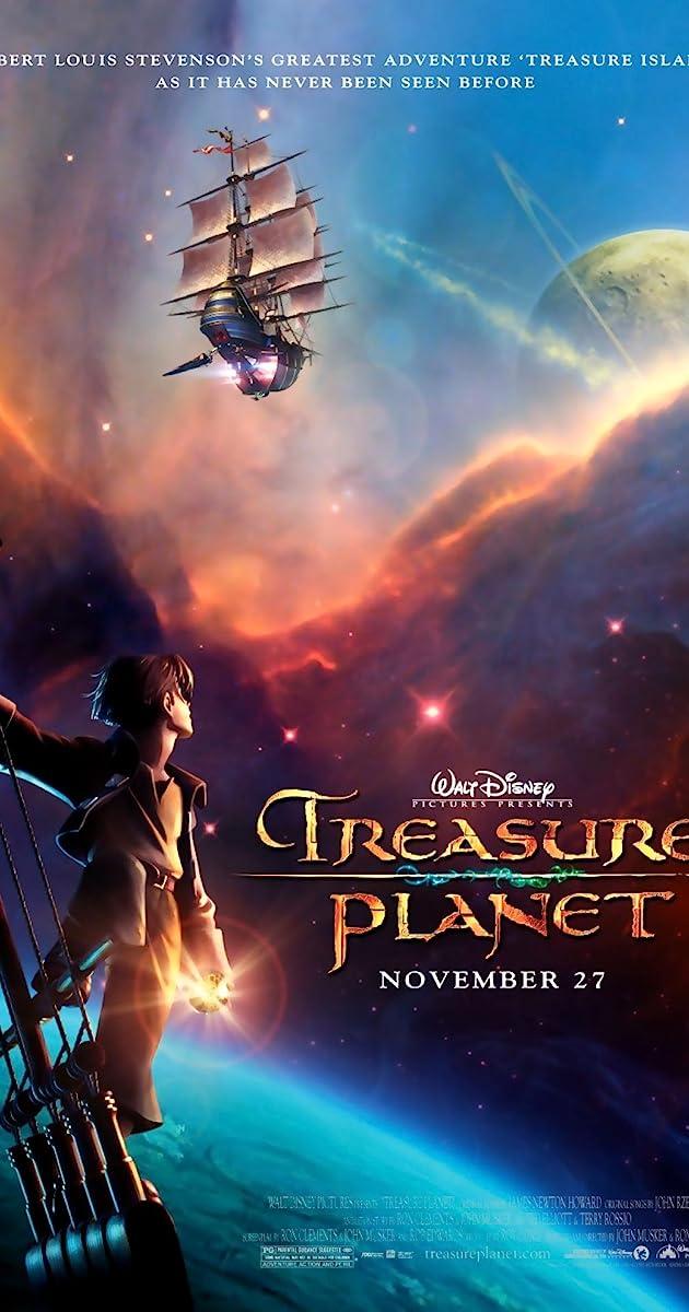 Subtitle of Treasure Planet