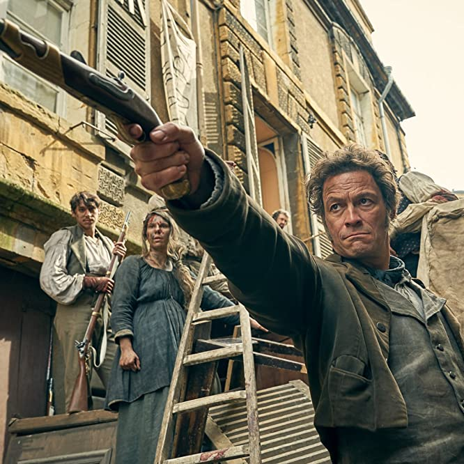 Dominic West in Les Misérables (2018)