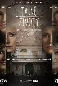 Szidi Tobias, Zuzana Mauréry, Judita Hansman, Peter Trník, Gabriela Marcinková, and Vanessa Sarkoziova in Tajne zivoty (2014)