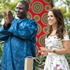 Lacey Chabert and Lucas Saige Ndlovu in Love on Safari (2018)