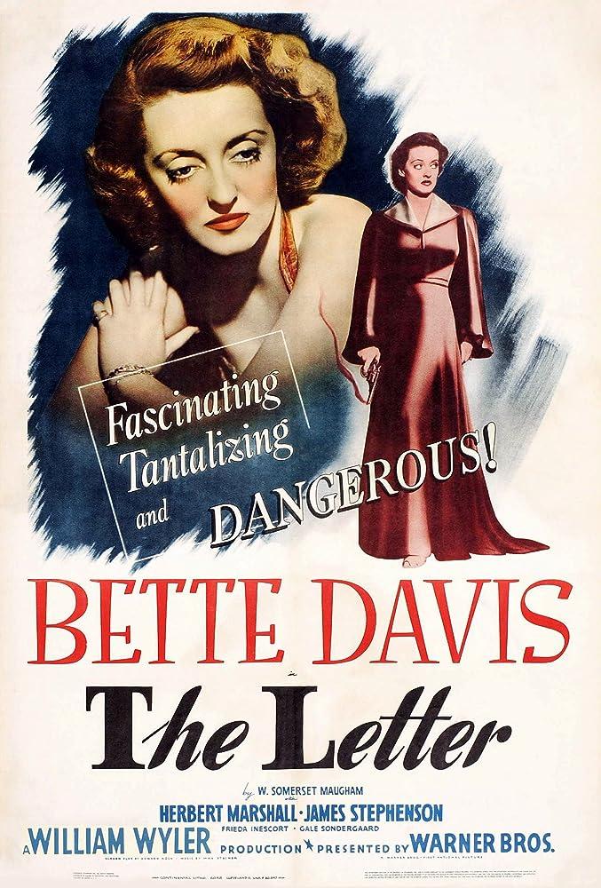 Bette Davis in The Letter (1940)