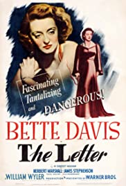 The Letter (1940) Poster - Movie Forum, Cast, Reviews