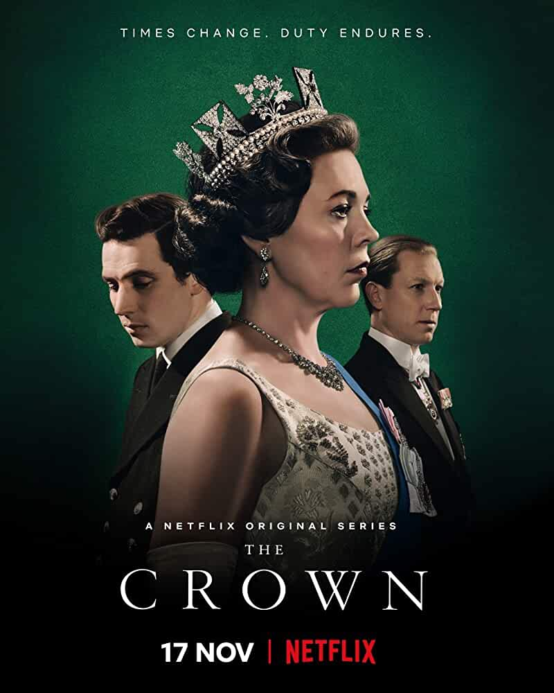 Tobias Menzies, Olivia Colman, and Josh O'Connor in The Crown (2016)