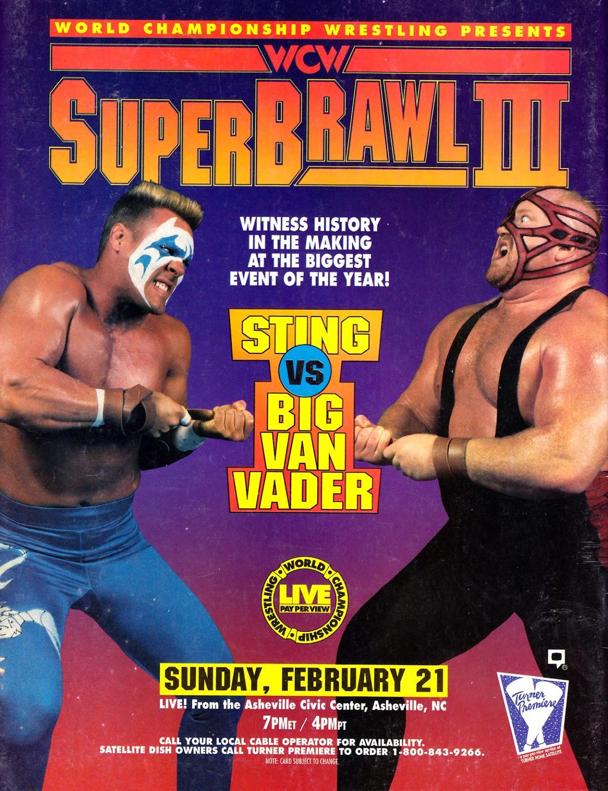 WCW SuperBrawl III (1993) - IMDb