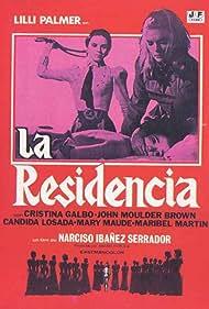 Pauline Challoner and Lilli Palmer in La residencia (1969)