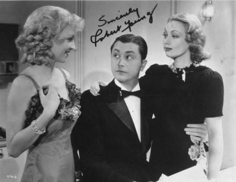 Robert Young, Marla Shelton, and Ann Sothern in Dangerous Number (1937)