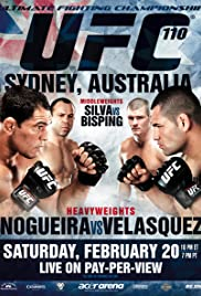 UFC 110: Nogueira vs. Velasquez Poster
