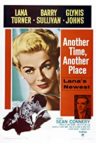 Sean Connery and Lana Turner in Another Time, Another Place (1958)