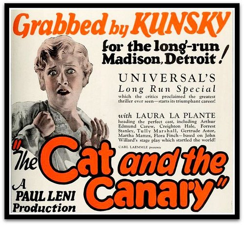 Laura La Plante in The Cat and the Canary (1927)