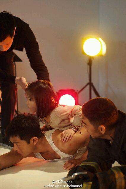 Louis Koo and Crystal Lee in Tao chu sheng tian (2013)
