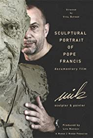 Sculptural Portrait of Pope Francis by Mik Simcic (2020)