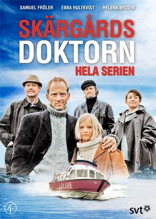 Helena Brodin, Göran Engman, Samuel Fröler, Ebba Hultkvist, and Sten Ljunggren in Skärgårdsdoktorn (1997)
