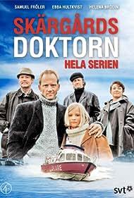 Helena Brodin, Göran Engman, Samuel Fröler, Ebba Hultkvist Stragne, and Sten Ljunggren in Skärgårdsdoktorn (1997)