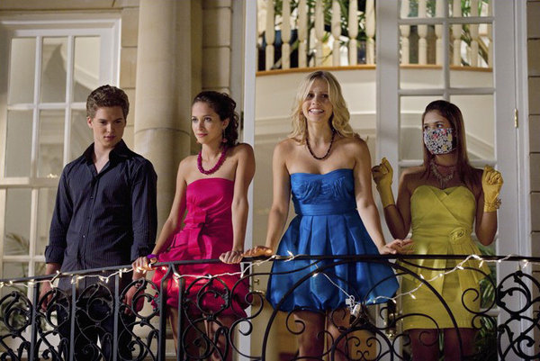 Maiara Walsh, Claire Holt, Nicole Gale Anderson, and Patrick Johnson in Mean Girls 2 (2011)